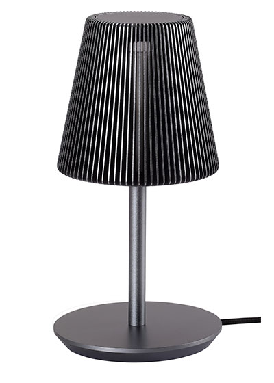 Bramah Table Grey Lamp-EOQ
