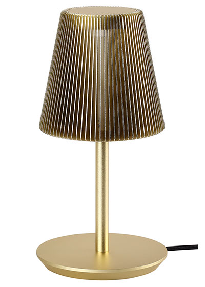 Bramah Table Pale Gold Lamp-EOQ