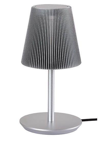 Bramah Table Silver Lamp-EOQ