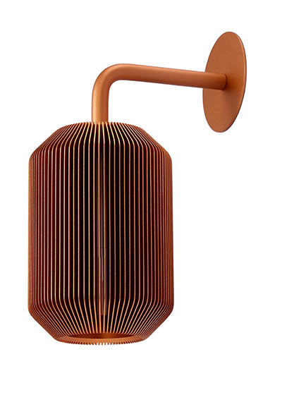 Joseph Bedside Lamp Copper-EOQ